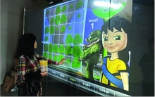 24 inch interactive multi touch foil Truly 2 points capacitive interactive projection foil film for touch kiosk