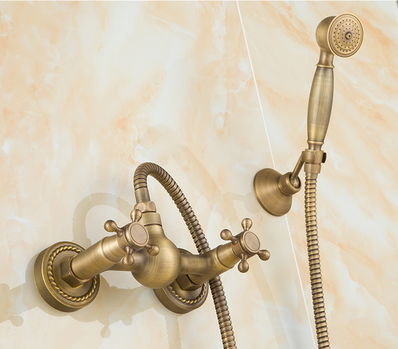 3pcs set faucet Copper shower set fashion quality copper shower bathroom sanitary ware
