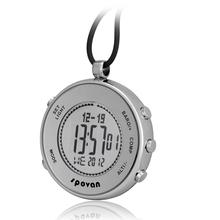 2016 Spovan PRO Multifunction Digital Sports Climbing Pocket Watch /Barometer Altimeter Compass Monitor 28 World Time Waterproof(China (Mainland))