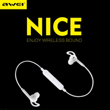 AWEI A610BL Wireless Sport Earphones Bluetooth 4.0 Noise Isolation Headphone with microphone & Metal Wireless Earphone
