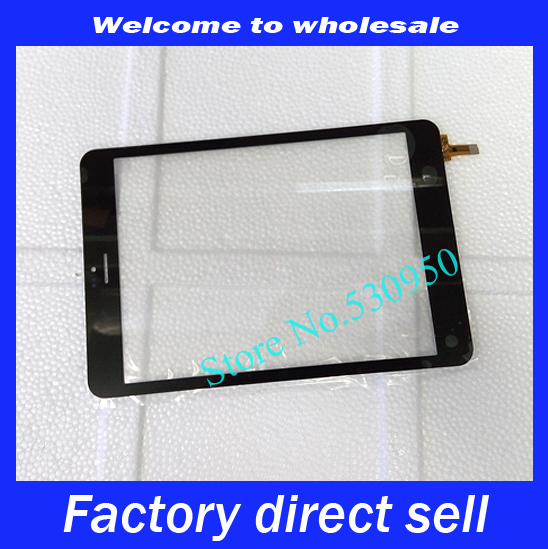 """Black For Onda V819 3G Tablet Computer 7.85"""" Touch Screen Digital Glass Lens Touch Panel Replacing 300-L4791C-A00 80701-0a4791c(China (Mainland))"""