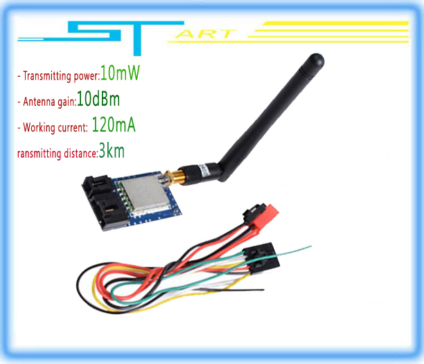 Free Shipping 2014 hot RC 8CH 5.8G 10mW 2KM A/V TS350 VS Transmitter TS832 Receiver RC832 FPV Radio System For drone hot selling<br><br>Aliexpress