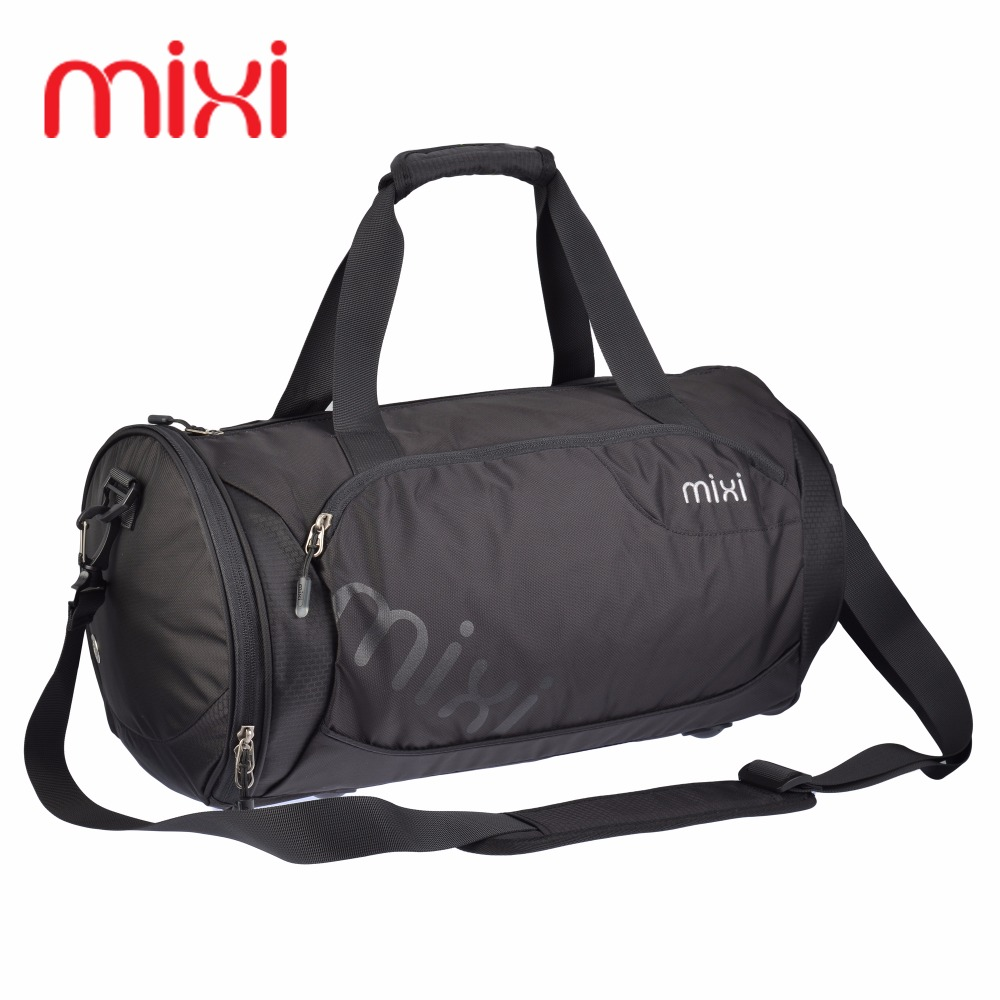 Mixi High Quality Nylon Waterproof Gym Sports Handbag Professional Men Women Fitness Shoulder Bag Basketball Special Travel Bag(China (Mainland))