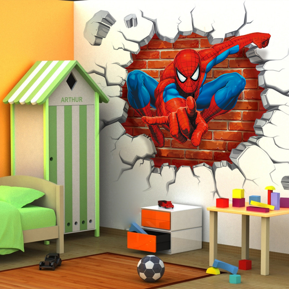 Online Buy Wholesale Spiderman Wallpaper From China
