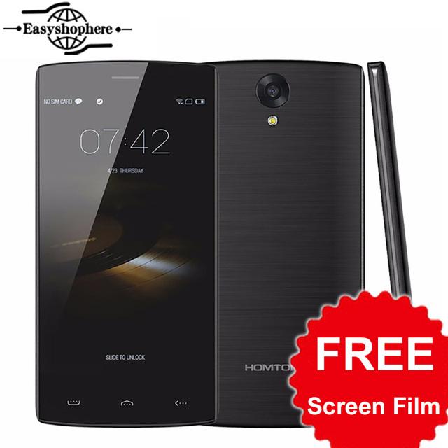 Оригинал Homtom HT7 Pro Мобильный Телефон 5.5 Дюймов HD 2 ГБ 16 ГБ 4 Г LTE Смартфон 1280*720 Android 5.1 Quad core 13MP 3000 мАч MTK6735