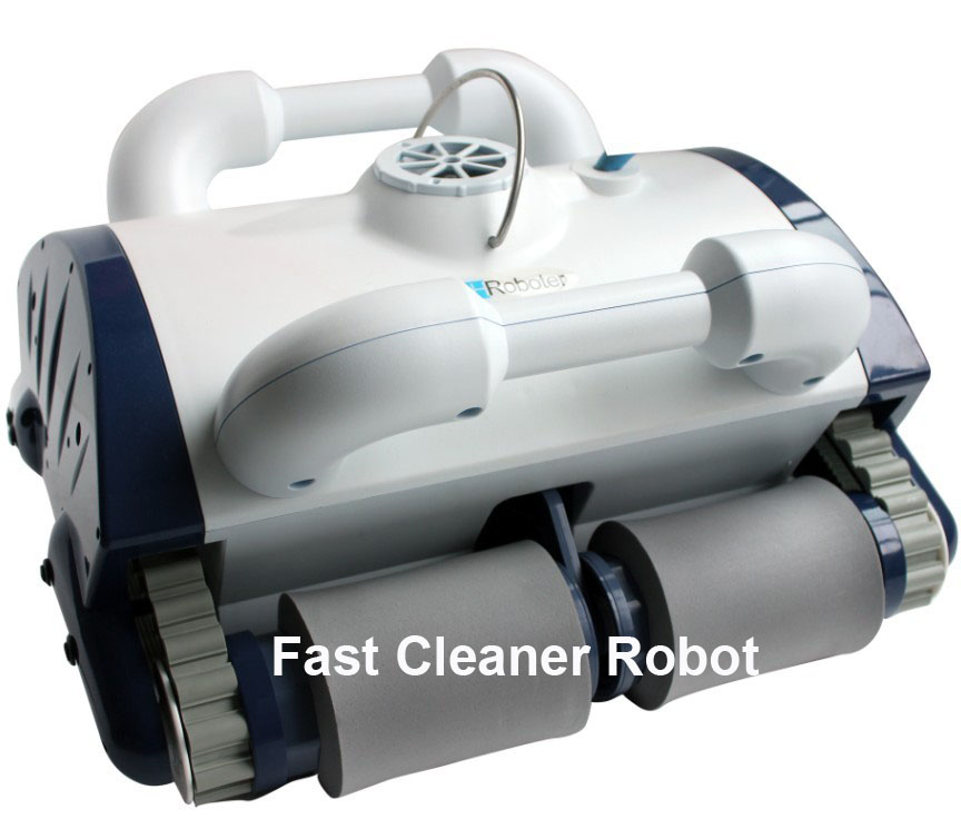 Robot Swimming Pool Cleaner Robotic Vacuum Cleaner With cleaning bottom and wall function/romote control,working for 100-200m2(China (Mainland))