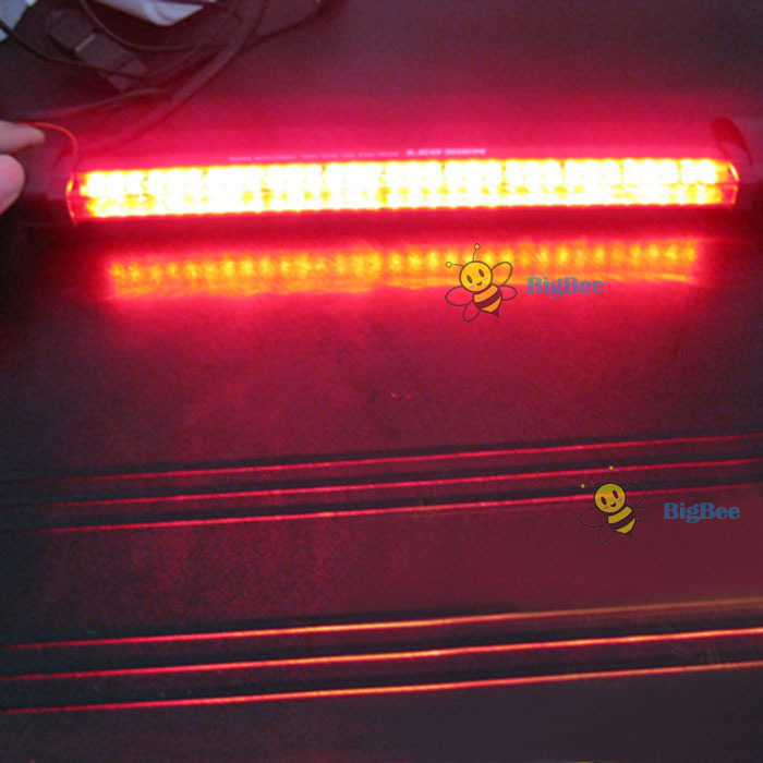 tradebox Best choice New 24 LED Third Vehicle Car Auto Fog Tail Rear Lamp Brake Warning Light 12V Red newest price(China (Mainland))