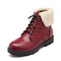 Women slip waterproof snow boots warm 2017 winter new women s fashion casual comfort shoes women