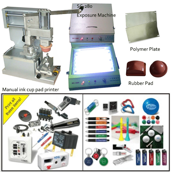 manual tampo printing machine for pens/bottles/cups/boxes/keychins logo(China (Mainland))
