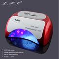 LKE 48W CCFL LED UV Lamp Light for Curing Nail Gel Polish Automatic Sensor Nail Lamp