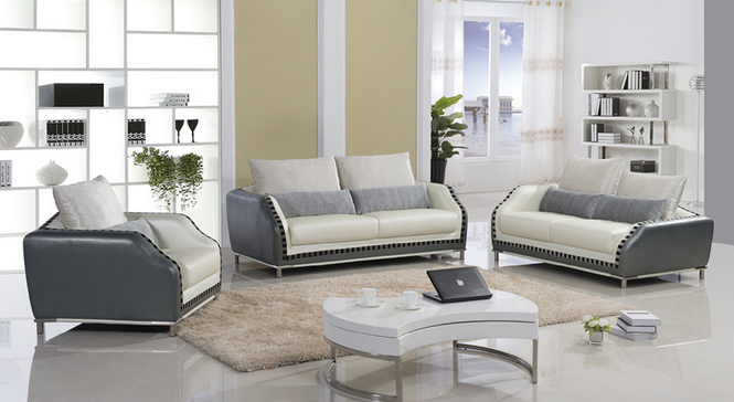 Lizz Combination Modern Leather sofa set .Comfort and style define our Chesterfield Collection.(China (Mainland))