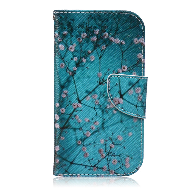New Art Print Luxury Fashion Flip Cover PU Leather Phone Case For samsung I9500 Galaxy S4 Wallet Bag Stand Cases Free shipping(China (Mainland))