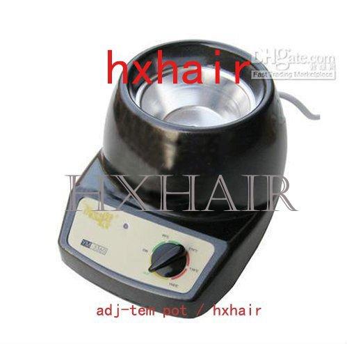 Freeshipping - 50pcs Adjustable Temperature Glue Pot / Extension Hair Tools
