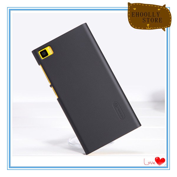 Best quality Hard case for Xiaomi MI3 M3 Mobile phone Original Nillkin Case Frosted Shield Back Casing Cover Film for free(China (Mainland))