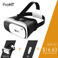 ProHT Classic 88202 Virtual Reality VR Box 2 0 for Games Movies with Remote Oculus