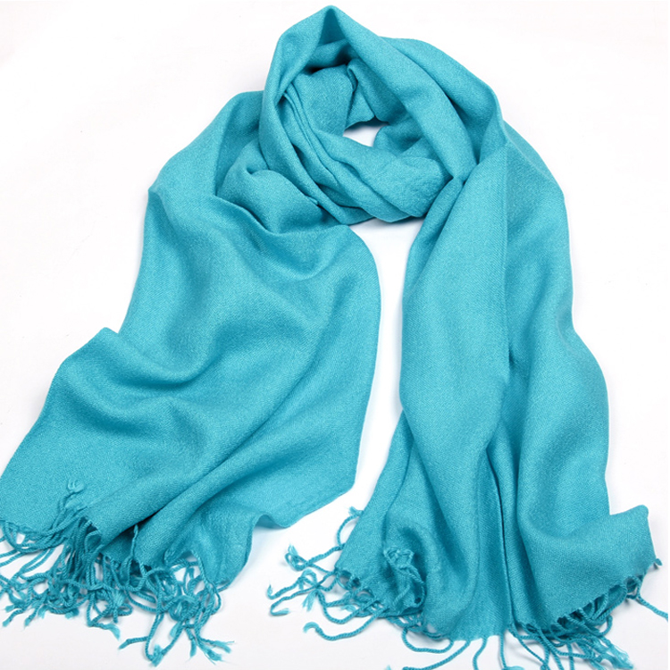 Big size 185*70cm 2014 New Fashion solid color tassel scarf general thermal faux Cashmere cape shawl(China (Mainland))