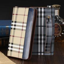 Men Wallet Leather Mixed Group Of Mens Long Man Bag Genuine Mobile Phone For Wallets Fashion