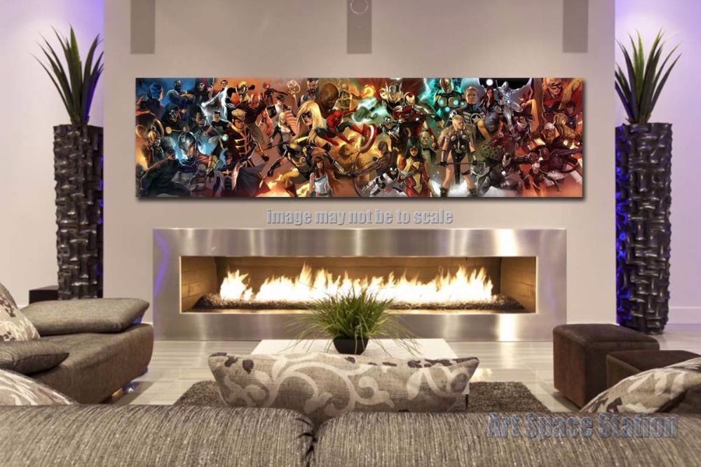 online kaufen gro handel marvel comic drucke aus china. Black Bedroom Furniture Sets. Home Design Ideas