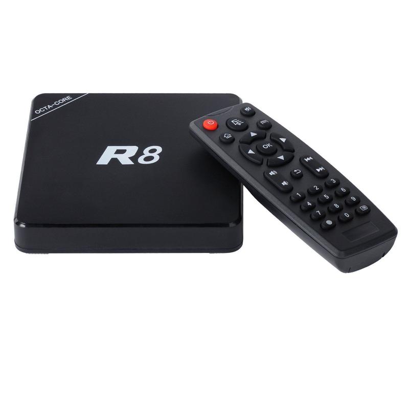 R8 Android 5.1 Rockchip 3368 Octa Core Google 1G/8G H.265 4K Multi-Language Media Player Kodi 64-bit CPU Smart TV Box(China (Mainland))