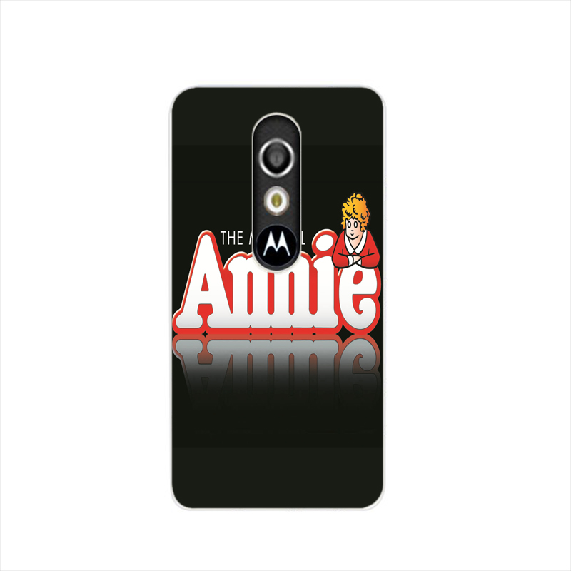 16026 Annie Broadway Musical logo cell phone case cover for For Motorola Moto G3 G4 X+1 PLAY PLUS ONE style(China (Mainland))