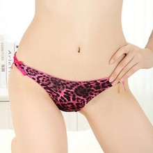 Retail Wholesales Sexy Womens Briefs Girl Lace Leopard Panties Underwear Lingerie Thongs G-strings