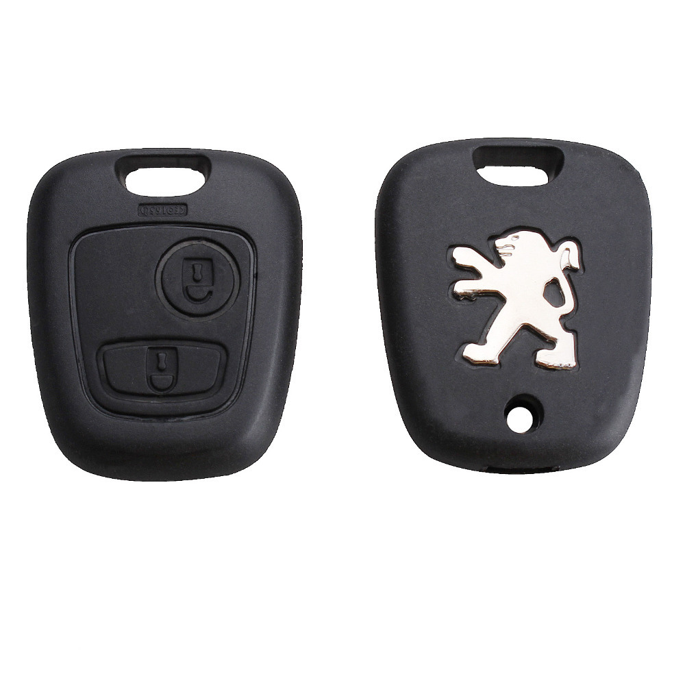 Peugeot 307 2 buttons remote key shell key blanks car key Shell(China (Mainland))