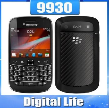 9930 Original Unlocked BlackBerry Bold Touch 9930 Cell Phone Touch Screen 3G GPS WIFI Bluetooth Free Shipping