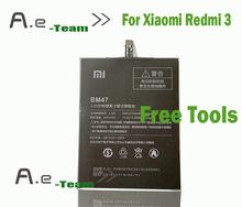 Xiaomi редми 3 BM47 100% новый высокое качество 4000 мАч назад — резервный аккумулятор для Xiaomi редми 3 5.0 дюймов смартфон в наличии