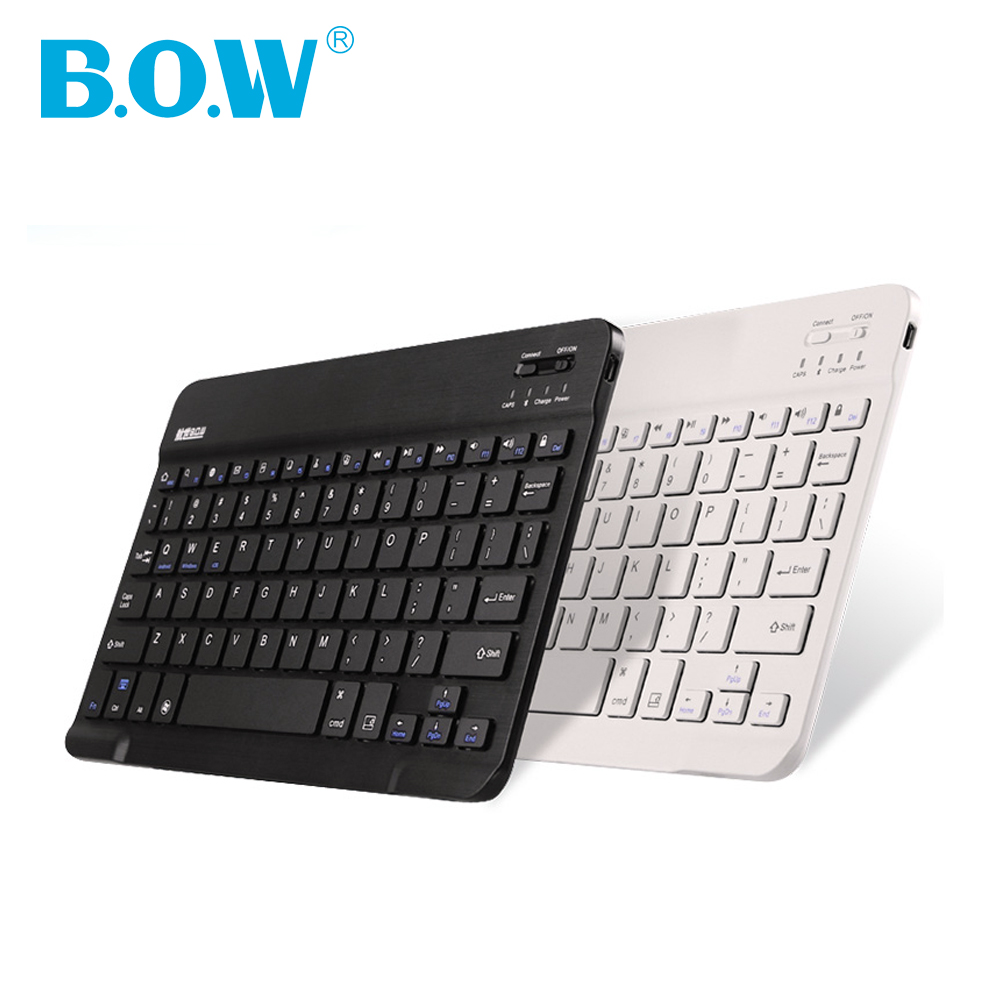 "Universal Sliem keyboard, Hot 9"" 10"" Bluetooth Wireless Keyboard Ultrathin & Slim for Computers, Tablets and Smartphones(China (Mainland))"