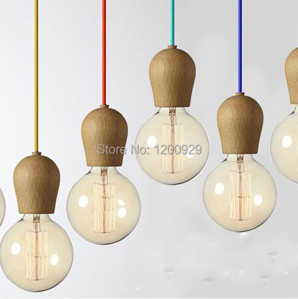 New Arrival Modern Brief Wood Pendant Light Bar Table Decoration -Excluded Bulbs  PLL-241<br><br>Aliexpress
