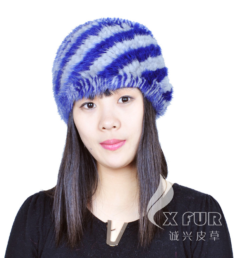 CX-E-31 2014 New Fashion Real Mink Fur Headband ~ DROP SHIPPING(China (Mainland))