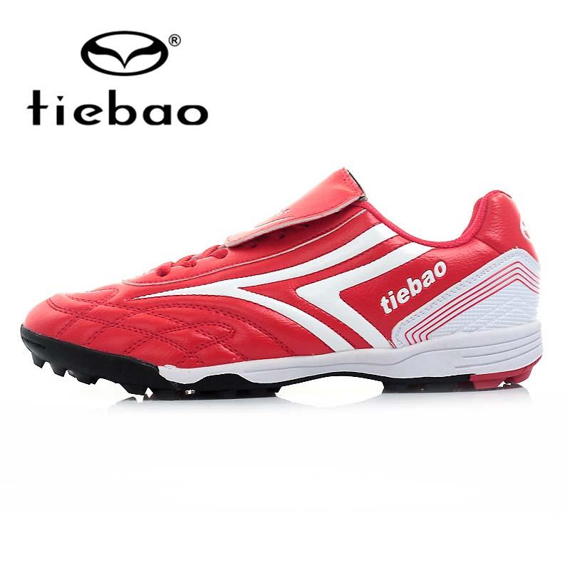TIEBAO Professional Outdoor Soccer Shoes Men Women Football Boots TF Turf Rubber Sole Athletic Ttaining Shoes chuteira futebol(China (Mainland))