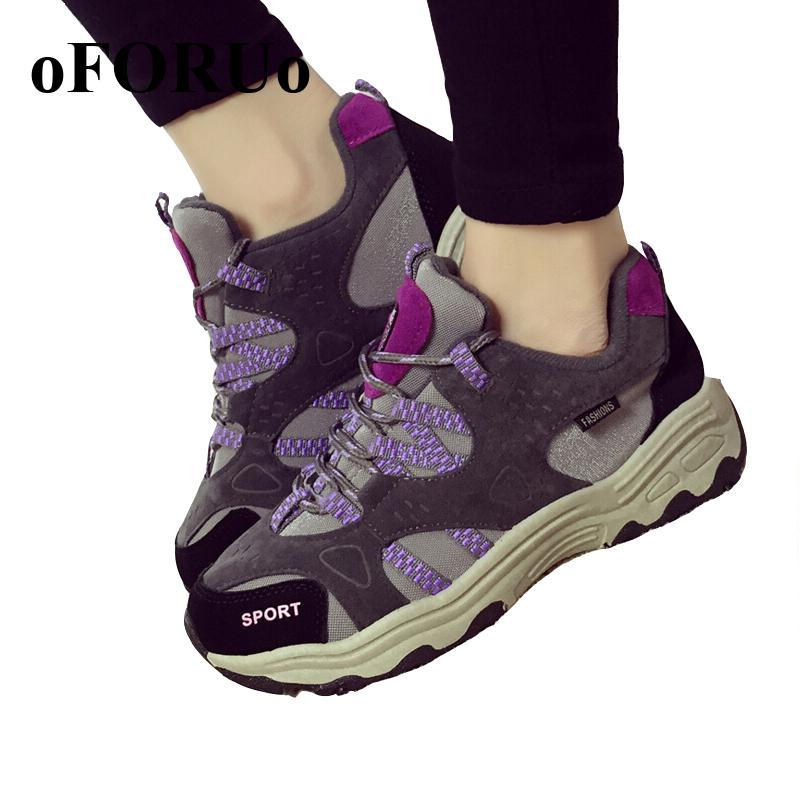 New 2016 Women Hiking shoes fashion Anti-slip outdoor shoes sport shoes  women trainers cheap wholesales sn601<br><br>Aliexpress