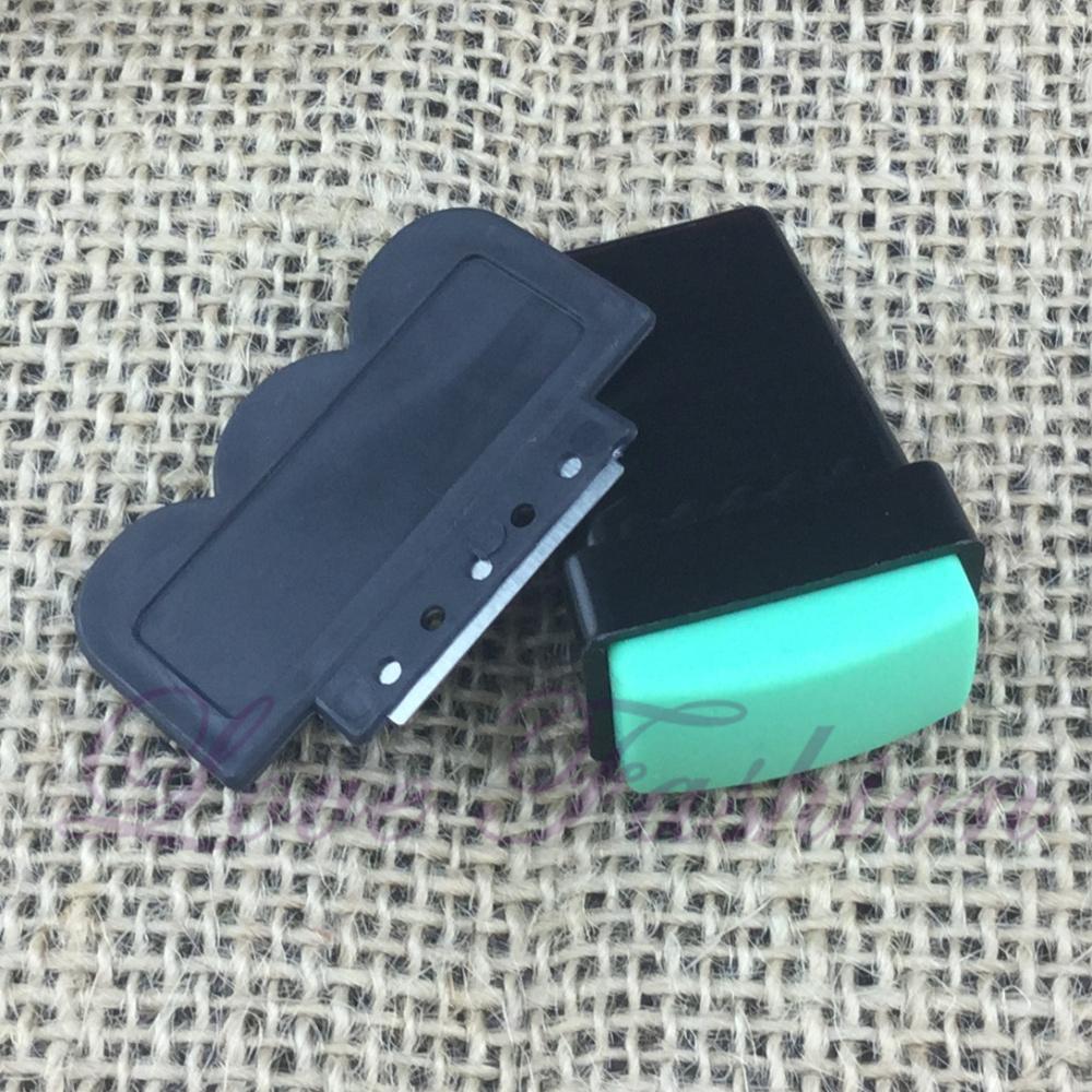 1 Pcs High quality Nail Art DIY Rubber + Plastic, Nail Art Stamping Stamp Tools Scraping Knife Set ( CYH - K4 )(China (Mainland))