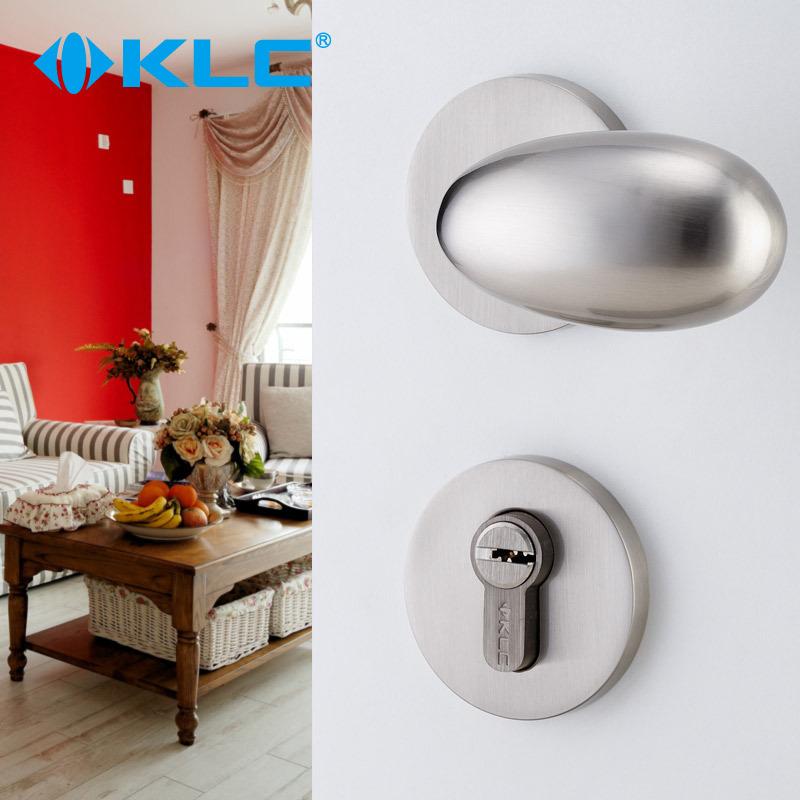 [KLC] Germany European bedroom interior door mechanical lock door lock handle solid spherical body(China (Mainland))
