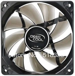 Free Shipping!! Ice Blade 120mm PWM Fan Blue LED(China (Mainland))