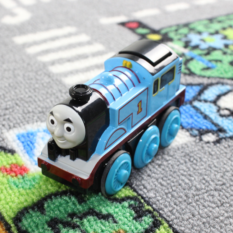New Diecast Metal Thomas Electric Train Toys Thomas & Friends Mini Electronic Motorized Toy For Kids Children Xmas Gifts(China (Mainland))
