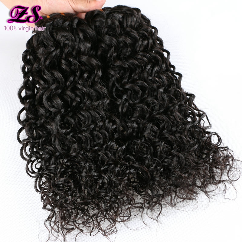 Raw Unprocessed Indian virgin hair kinky curly hair wave 4 bundles hot sale human hair extension indian kinky curly  weave<br><br>Aliexpress