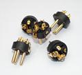 High quality 100pcs lot XLR Accessories 3 PIN for XLR connector