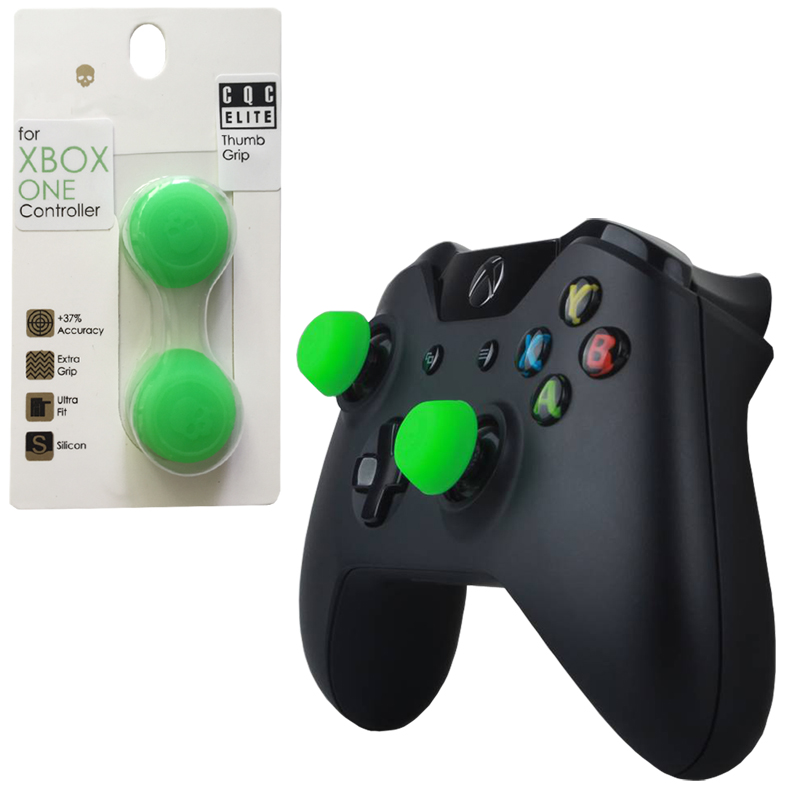 Skull&Co 2 Pairs Silicone Controller Analog Grips CQC Thumbstick Cover XBOX ONE/360 Thumb Stick Cap Accessories - Play Store store