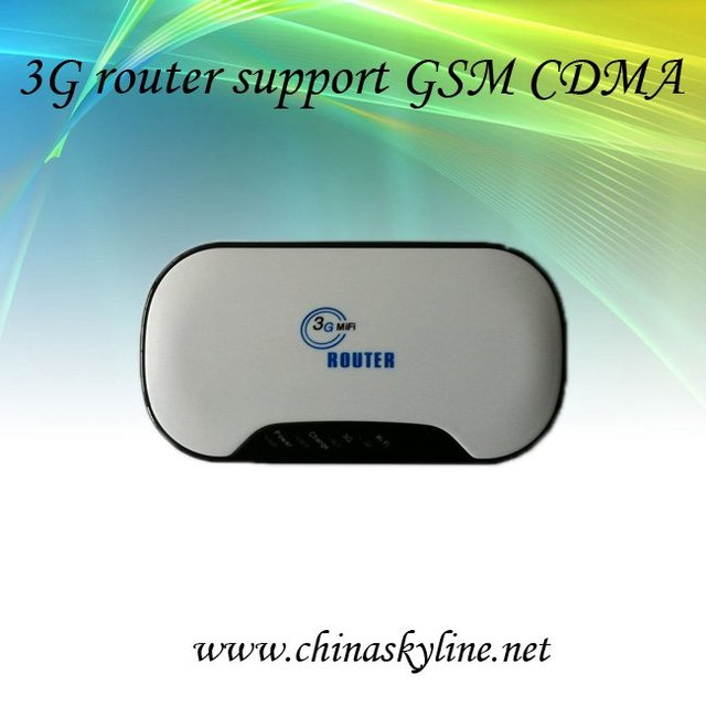 GSM WCDMA wireless 3g wifi router
