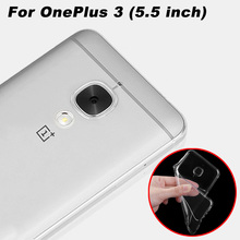 Buy OnePlus 3 Case Cover 0.6mm Ultrathin Transparent TPU Soft Cover Phone Case OnePlus 3 One Plus 3 Back Cover Case (5.5 inch) for $1.03 in AliExpress store