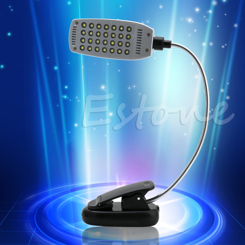 Pro Flexible USB/Battery Power 28 LED Light Clip-on Bed Table Desk Reading Lamp(China (Mainland))