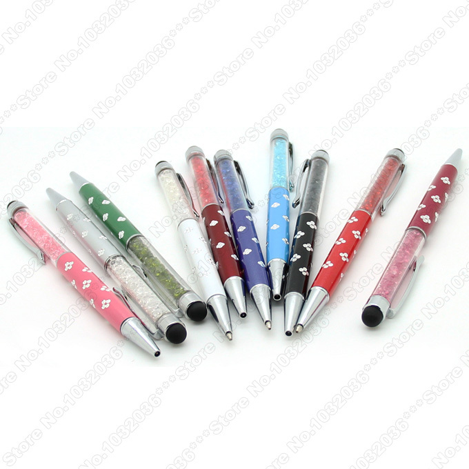 2 1 Bling Crystal Capacitive Touch Screen Stylus Pen iPhone 4 4S 5 5S iPad 3 Samsung Galaxy S3 S4 Note HTC Blackberry - SegMoi Techology Co,.Ltd store