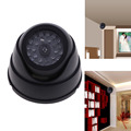 Top Sell Dummy Fake IP Surveillance CCTV Security Dome Camera w Flashing Red LED Light FC