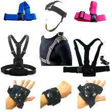 Buy Gopro xiaomi yi SJCAM SJ4000 SJ6 Accessories Head Chest Arm Wrist Band Single Shoulder Strap Belt Tripod Mount Adapter soocoo H9 for $3.99 in AliExpress store