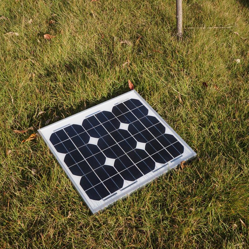 20W monocrystalline solar panel monocrystalline silicon solar panel 20 W solar panel A grade cells(China (Mainland))
