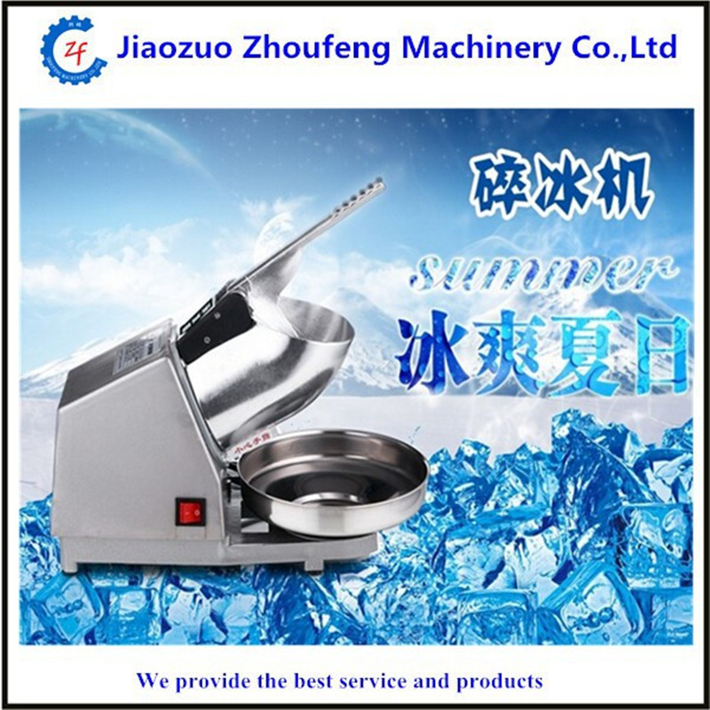 Electric Ice crusher shaver machine snow cone maker shaved Ice(China (Mainland))