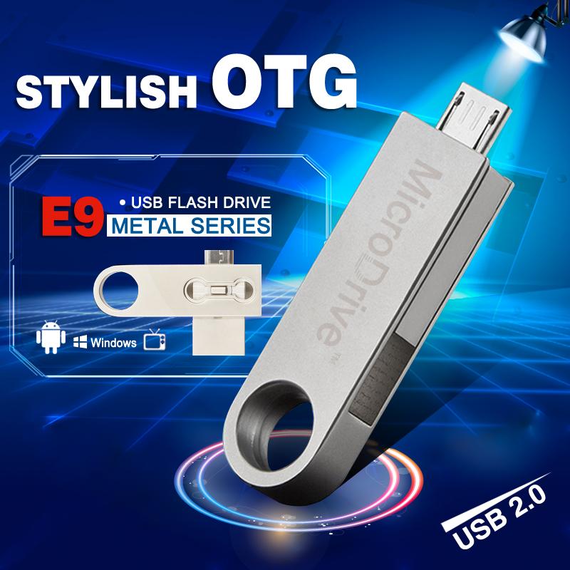 Smart Phone USB 2.0 otg Flash Drive 32GB 16GB 8GB 64GB OTG USB Flash Drive Storage Memory Stick Micro USB Pendrive for android(China (Mainland))