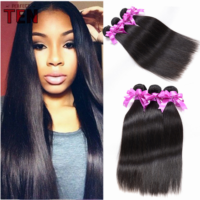 6a brazilian virgin hair straight 3 bundles brazilian straight hair 8-30inch mink brazilian hair cheap human hair